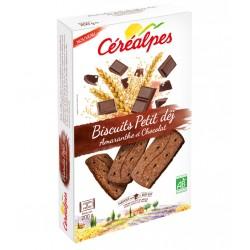 Biscuit petit déj - Amaranthe et chocolat - 200g